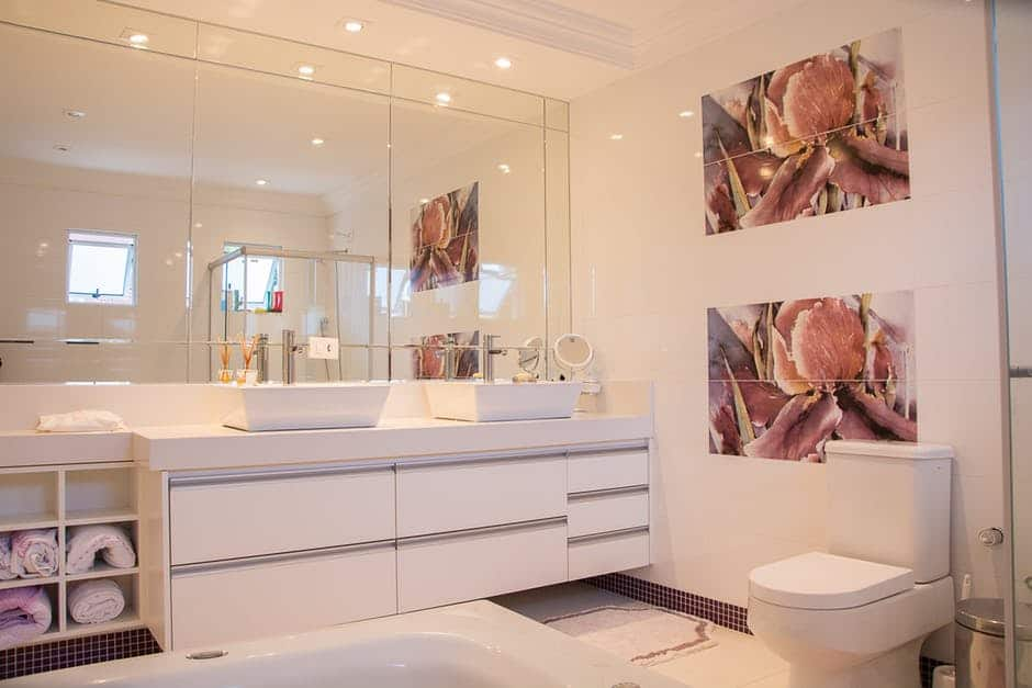 wall decal ideas for bathroom - twiisted design and print media