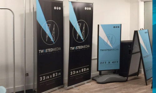 Large Format Banners/Stands