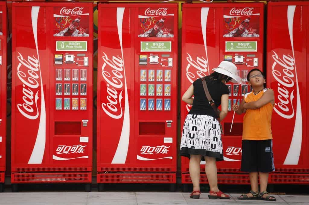 coca cola vending machine wrap