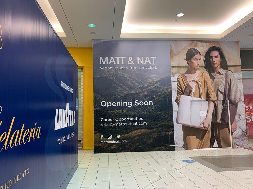 Mall Hoarding signage installation Richmond 17