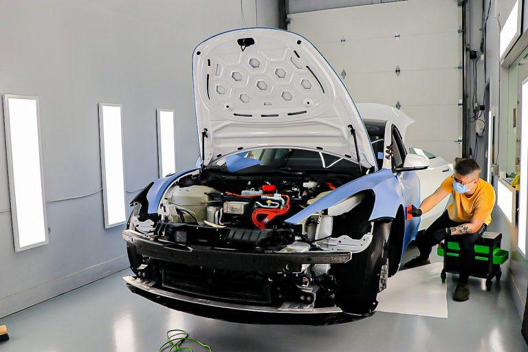 Tesla Model 3 Car wrap