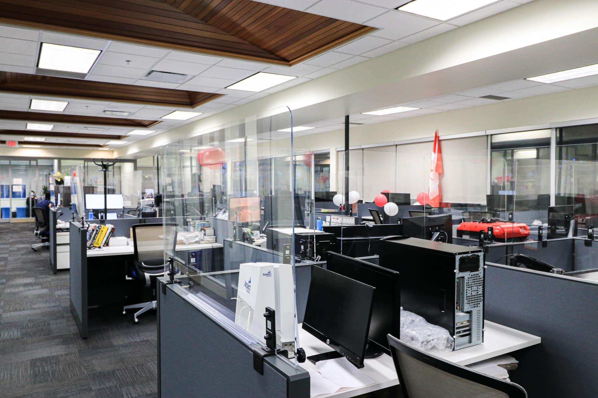 Office sneeze guard