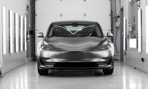 Tesla Model 3 Satin Dark Grey