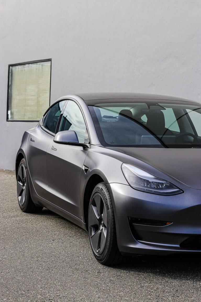 Tesla Model 3 Satin Dark Grey Richmond