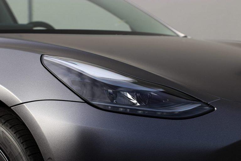 Tesla Model 3 Satin Dark Grey TwiistedMedia