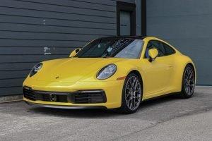 Porsche 922 Paint Protection Film (PPF)