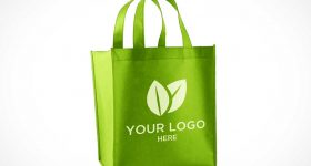 tote bag printing-Grocery-Bag-Front